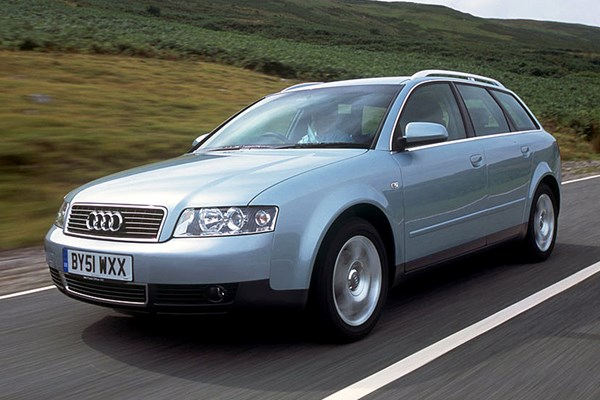audi a4 avant from 2001 used prices parkers. Black Bedroom Furniture Sets. Home Design Ideas