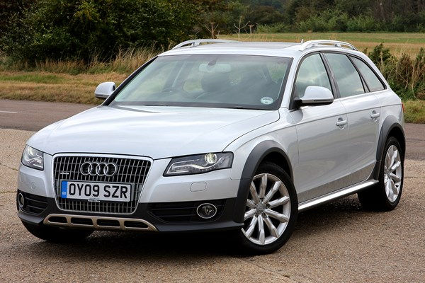 audi a4 allroad from 2009 used prices parkers. Black Bedroom Furniture Sets. Home Design Ideas