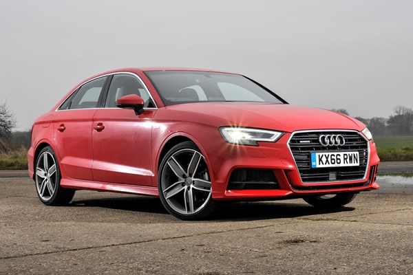 audi a3 saloon from 2013 used prices parkers. Black Bedroom Furniture Sets. Home Design Ideas