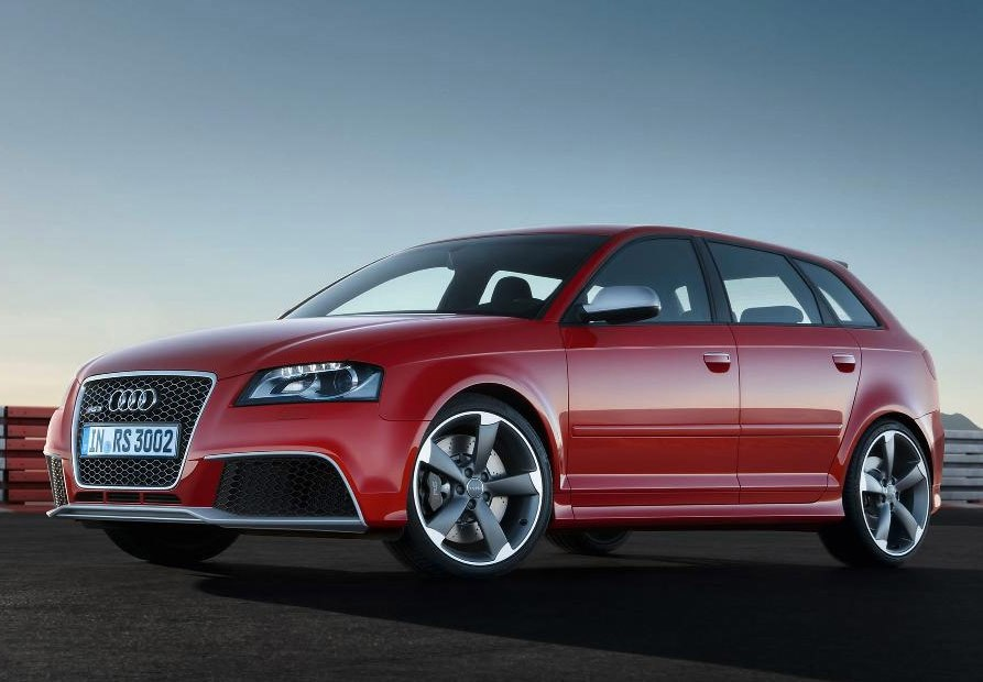 audi a3 rs3 sportback 2011 2012 photos parkers. Black Bedroom Furniture Sets. Home Design Ideas