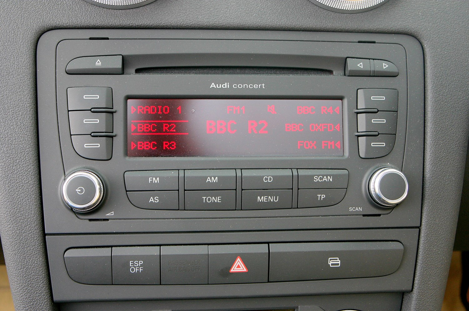 Audi Concert Stereo User Manual