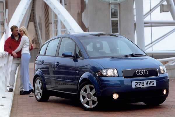 audi a2 used car review parkers. Black Bedroom Furniture Sets. Home Design Ideas