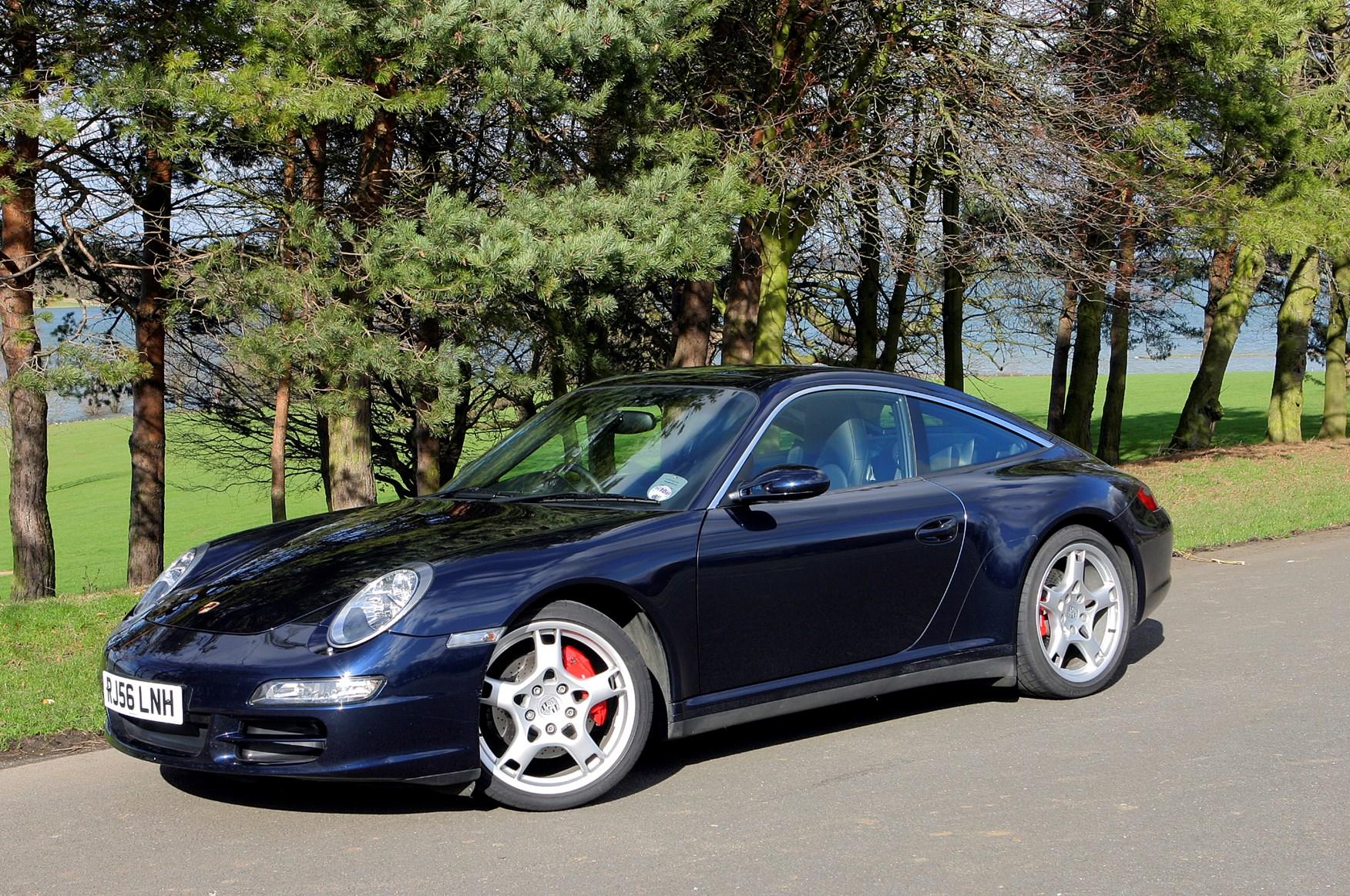 Porsche 911 Targa 2006 2012 Photos Parkers