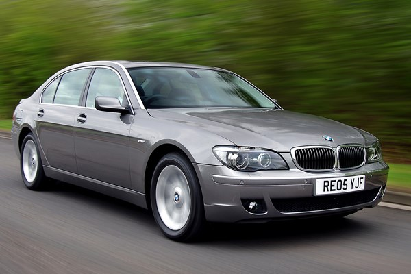 bmw 7 series saloon from 2002 used prices parkers. Black Bedroom Furniture Sets. Home Design Ideas