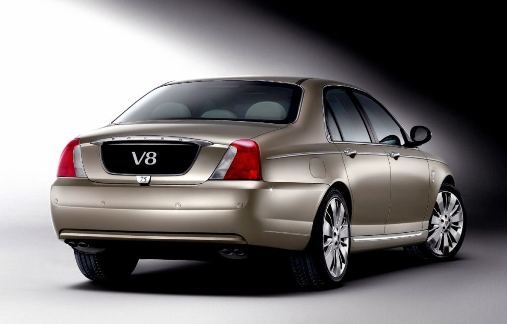 How Much To Detail A Car >> Rover 75 V8 (2004 - 2005) Photos | Parkers