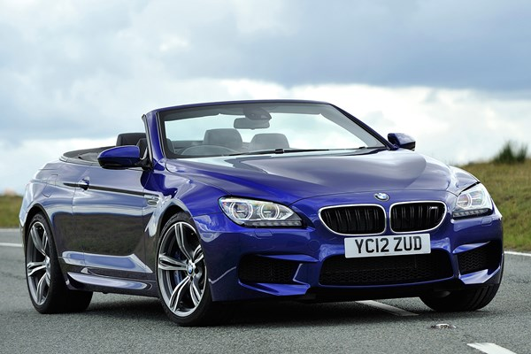 BMW 6 Series M6 Convertible 12 On