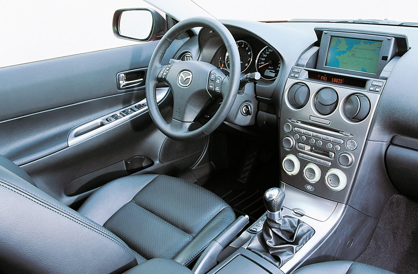 mazda 6 2004 interior. behind the wheel mazda 6 2004 interior