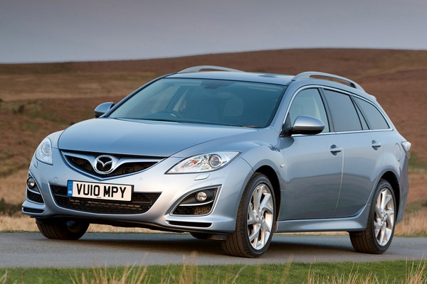 mazda 6 estate from 2008 used prices parkers. Black Bedroom Furniture Sets. Home Design Ideas