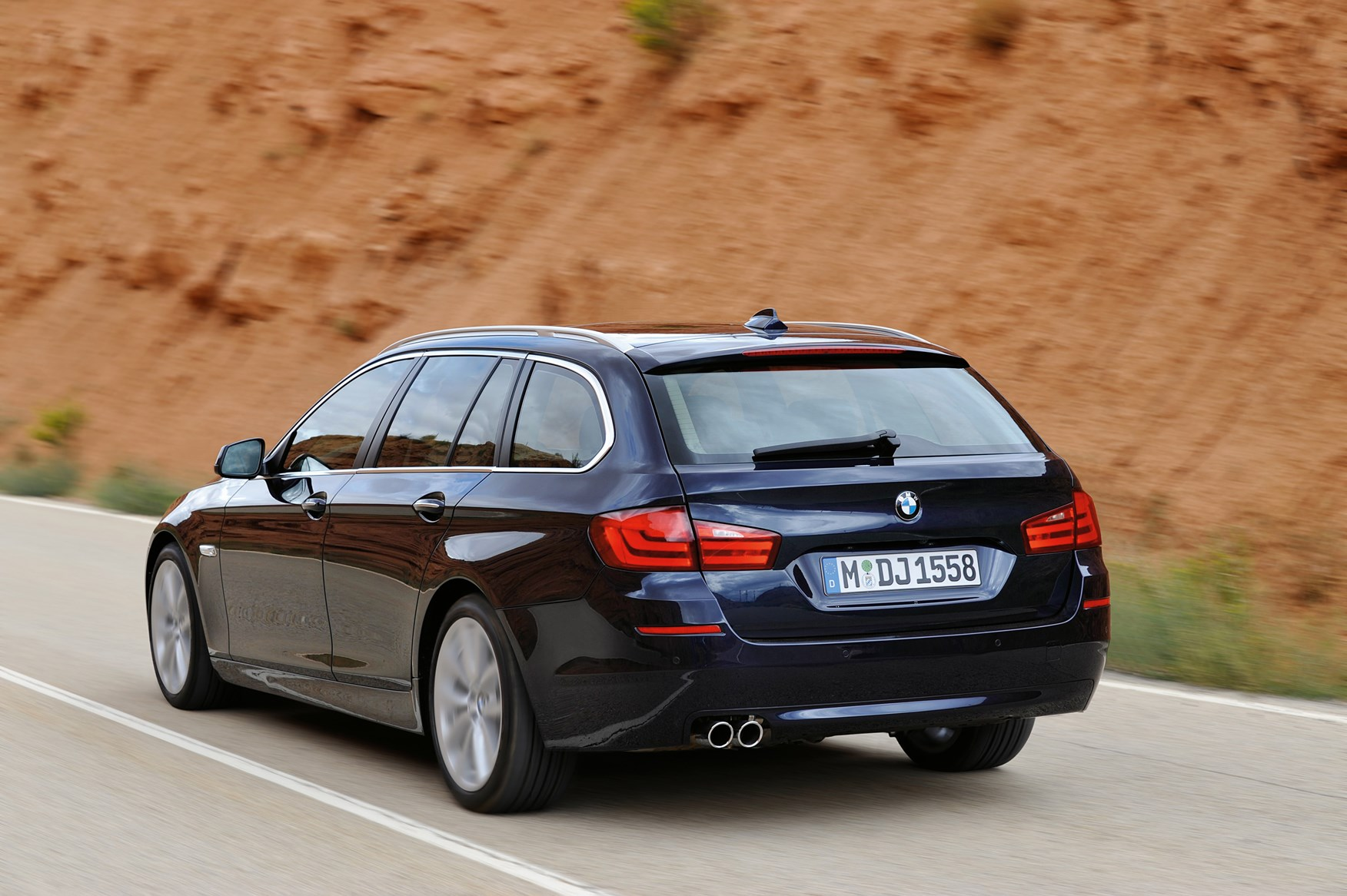 bmw 5-series touring review (2010 - 2017) | parkers