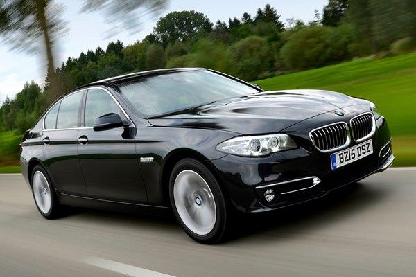 bmw 5 series saloon review 2010 2017 parkers. Black Bedroom Furniture Sets. Home Design Ideas