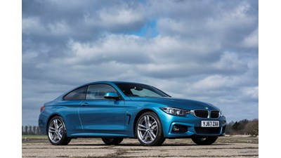 BMW 4-Series Coupe 420i M Sport (Professional Media) 2d Auto