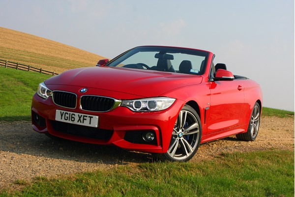 BMW 4-Series Convertible (14 on) - rated 4 out of 5
