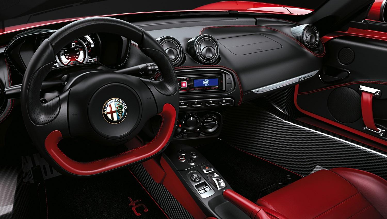 Alfa Romeo 4c Spider 2015 Photos Parkers