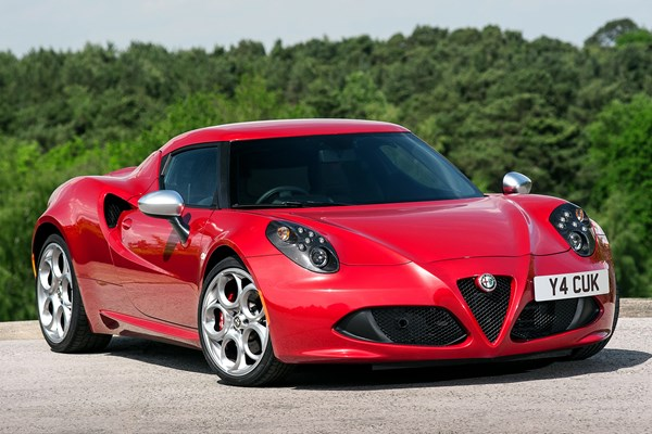 alfa romeo 4c coupe from 2013 used prices parkers. Black Bedroom Furniture Sets. Home Design Ideas