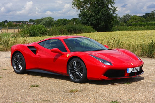 ferrari 488 gtb from 2016 used prices parkers. Black Bedroom Furniture Sets. Home Design Ideas