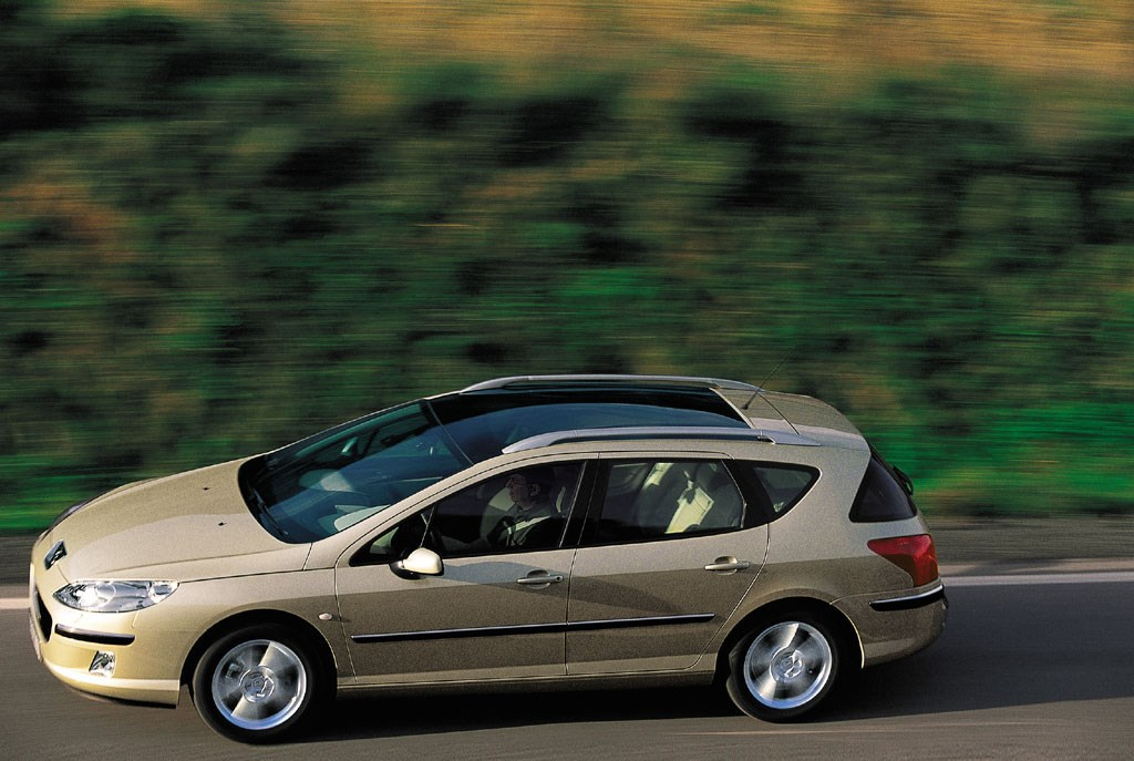 View All Images Of The Peugeot 407 SW Estate (04 11)