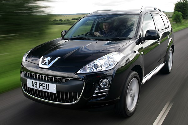 Peugeot 4007 (07-12) - rated 4 out of 5