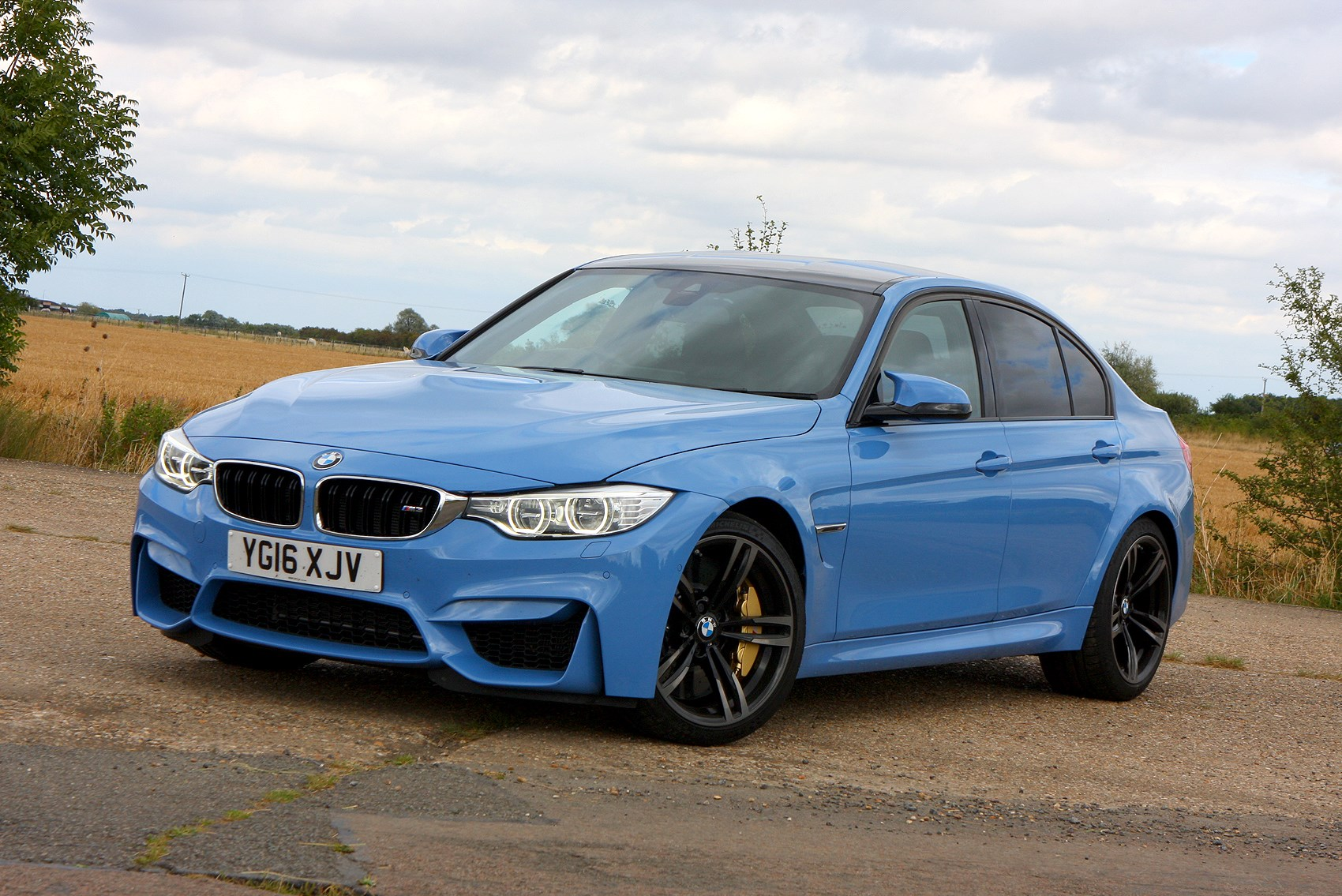 bmw 3 series m3 review 2014 parkers. Black Bedroom Furniture Sets. Home Design Ideas