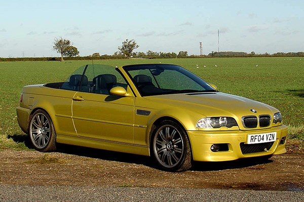 bmw 3 series m3 convertible from 2001 used prices parkers. Black Bedroom Furniture Sets. Home Design Ideas