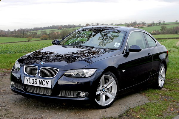 bmw 3 series coup from 2006 used prices parkers. Black Bedroom Furniture Sets. Home Design Ideas