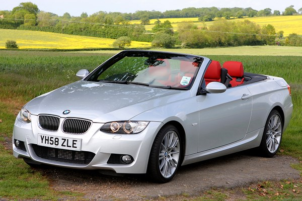 bmw 3 series convertible review 2007 2013 parkers. Black Bedroom Furniture Sets. Home Design Ideas