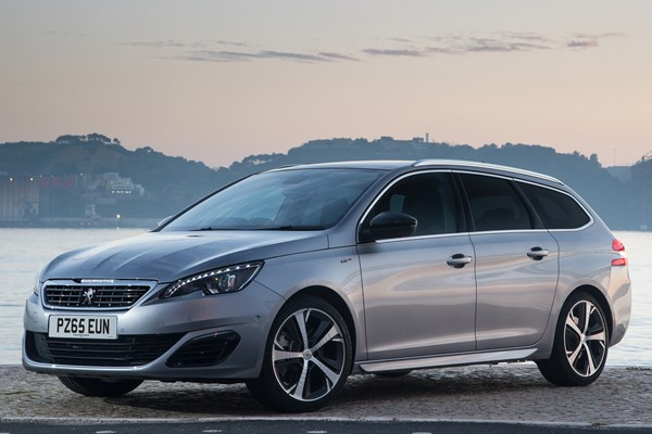 peugeot 308 sw from 2014 used prices parkers. Black Bedroom Furniture Sets. Home Design Ideas