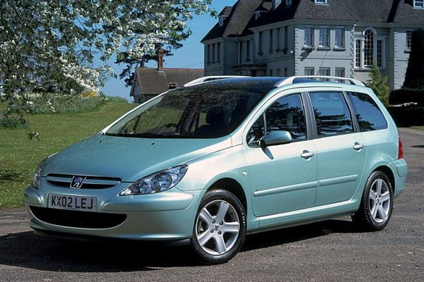 peugeot 307 sw from 2002 used prices parkers. Black Bedroom Furniture Sets. Home Design Ideas