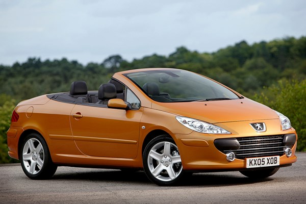 peugeot 307 coup cabriolet from 2003 used prices parkers. Black Bedroom Furniture Sets. Home Design Ideas
