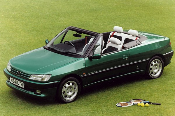 peugeot 306 cabriolet review 1994 2002 parkers. Black Bedroom Furniture Sets. Home Design Ideas
