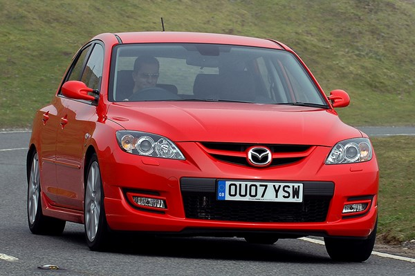 mazda 3 mps from 2007 used prices parkers. Black Bedroom Furniture Sets. Home Design Ideas