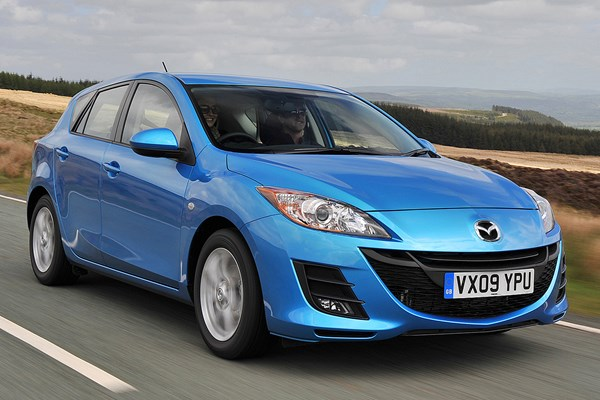 mazda 3 hatchback from 2009 used prices parkers. Black Bedroom Furniture Sets. Home Design Ideas