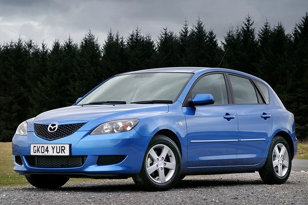mazda 3 hatchback from 2004 used prices parkers. Black Bedroom Furniture Sets. Home Design Ideas