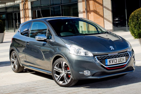 peugeot 208 gti from 2012 used prices parkers. Black Bedroom Furniture Sets. Home Design Ideas