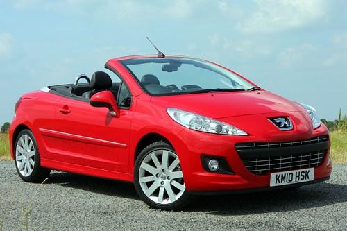 Renault wind hatchback 2010 2012 rivals parkers - Peugeot 206 coupe cabriolet review ...