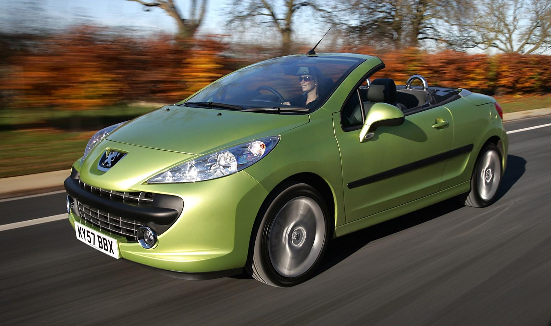 peugeot 207 cc 2007 2014 driving performance parkers rh parkers co uk Peugeot 307 CC Peugeot 307 CC