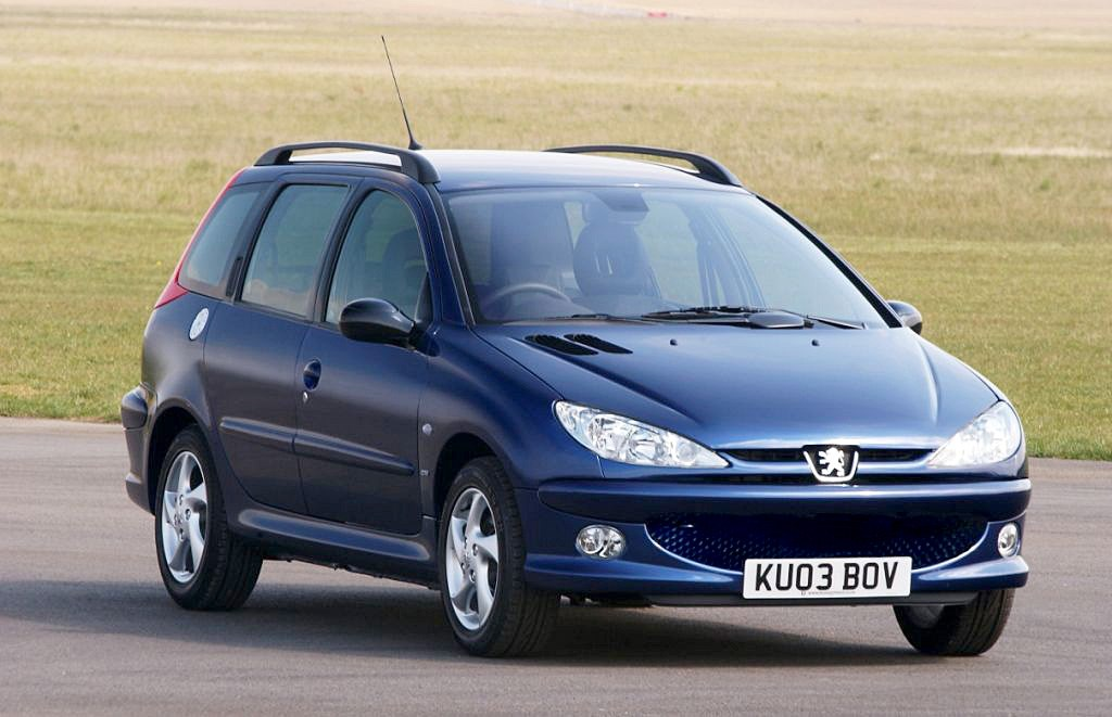 peugeot 206 sw 2002 2006 features equipment and accessories parkers. Black Bedroom Furniture Sets. Home Design Ideas