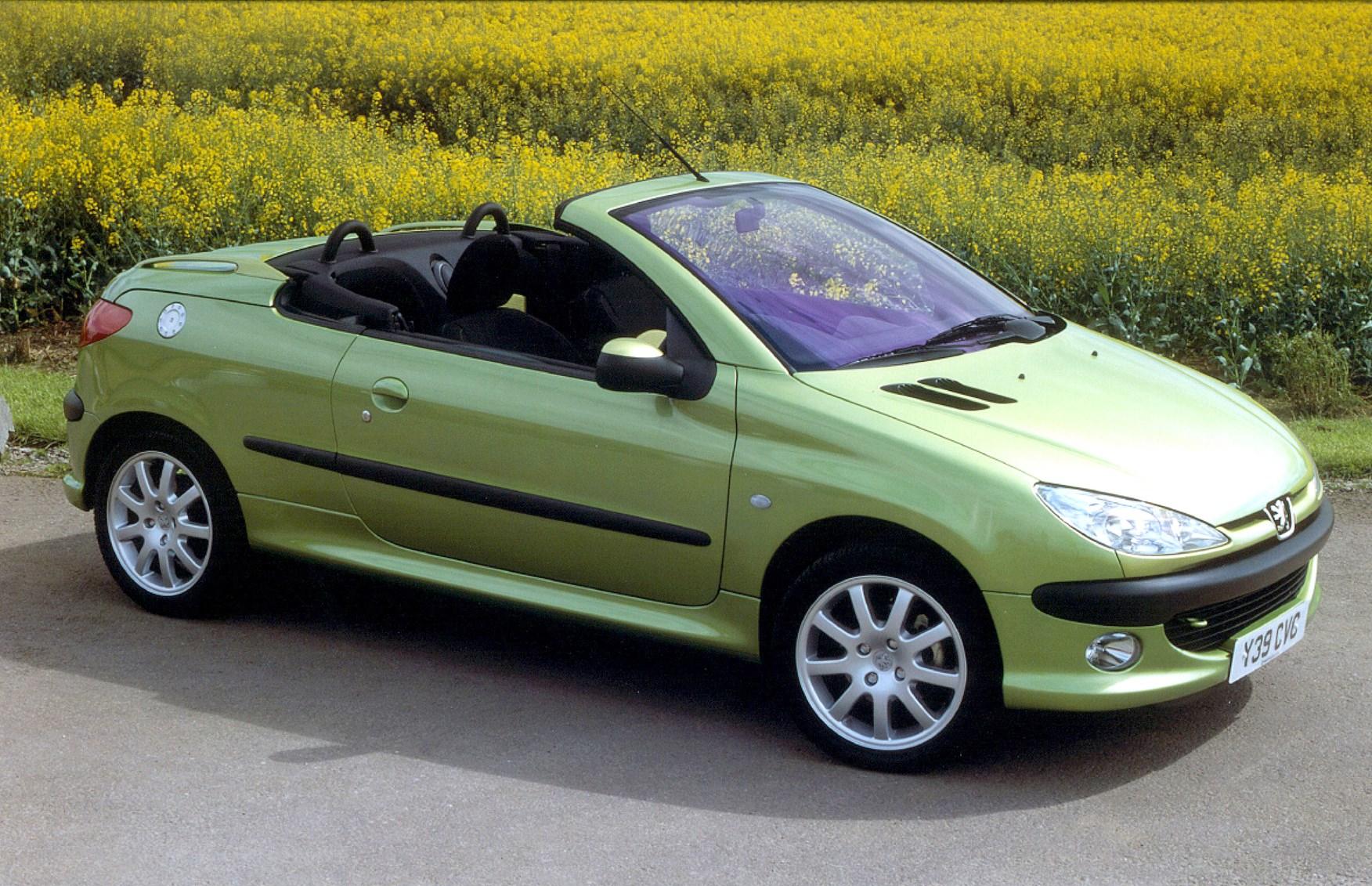 peugeot 206 coup cabriolet review 2001 2007 parkers. Black Bedroom Furniture Sets. Home Design Ideas