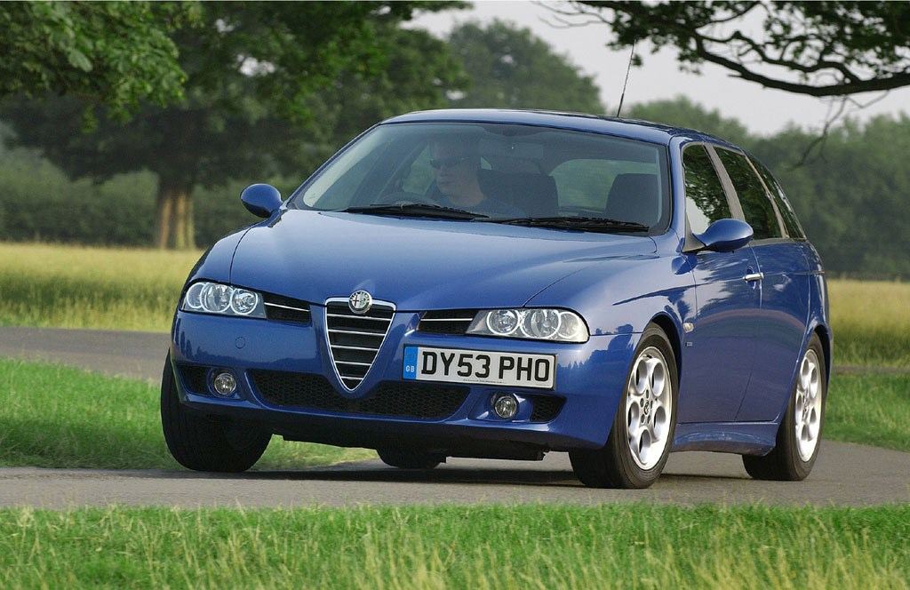alfa romeo 156 sportwagon 2000 2005 photos parkers. Black Bedroom Furniture Sets. Home Design Ideas