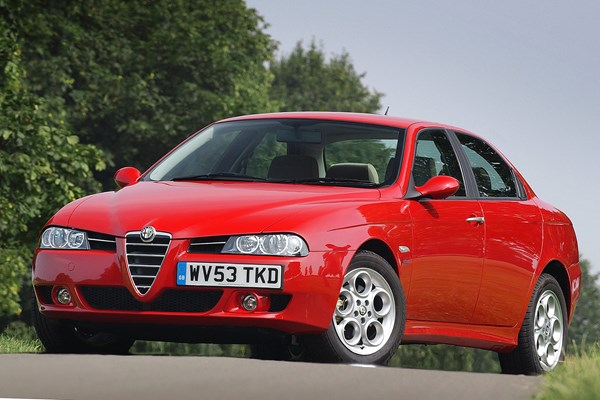 alfa romeo 156 saloon review 1997 2005 parkers. Black Bedroom Furniture Sets. Home Design Ideas