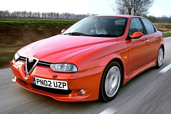 alfa romeo 156 gta from 2002 used prices parkers. Black Bedroom Furniture Sets. Home Design Ideas