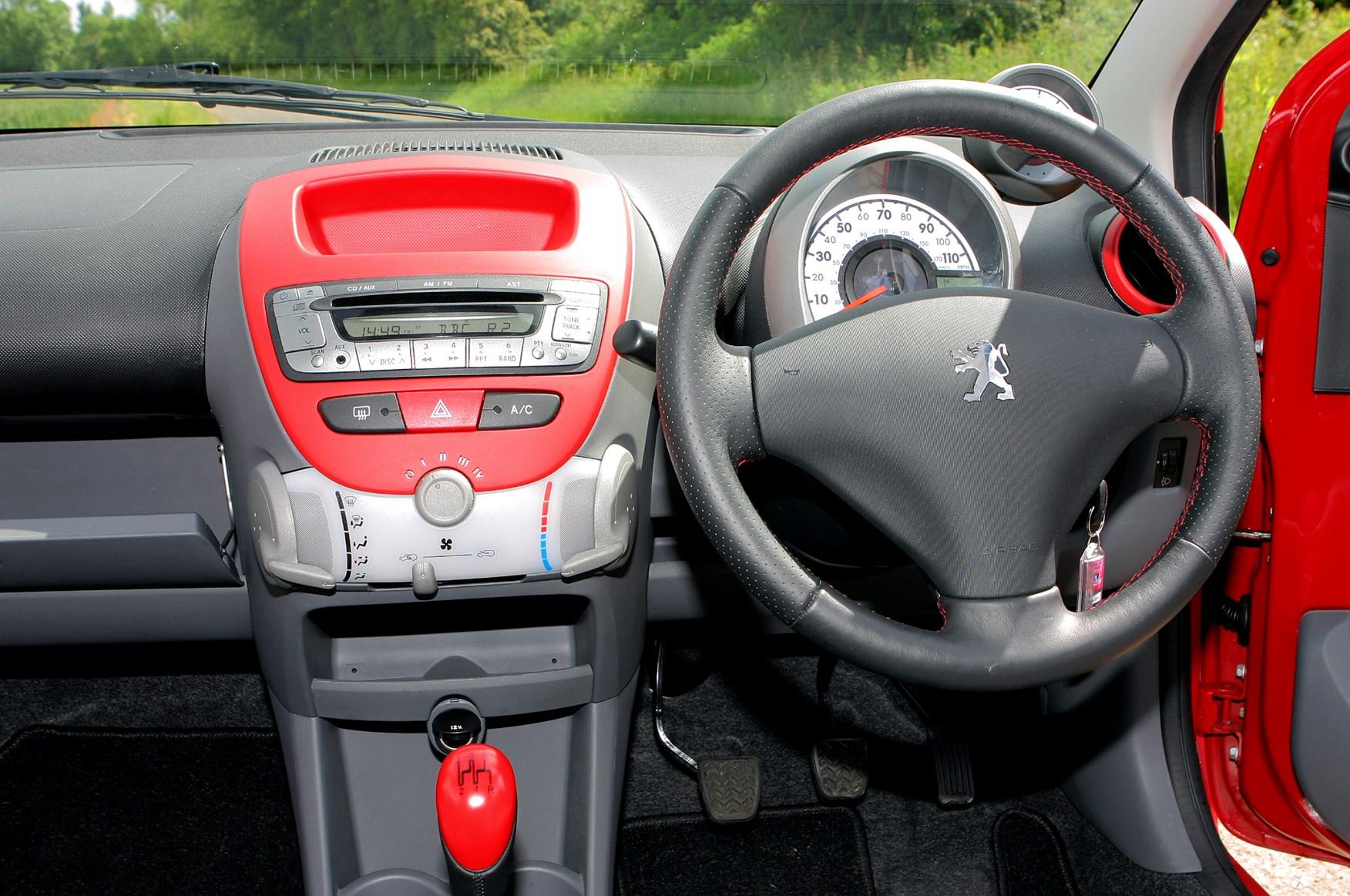 peugeot 107 hatchback 2005 2014 driving performance parkers. Black Bedroom Furniture Sets. Home Design Ideas