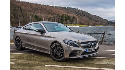Mercedes-Benz C-Class Coupe C 180 AMG Line (09/2018 on) 2d