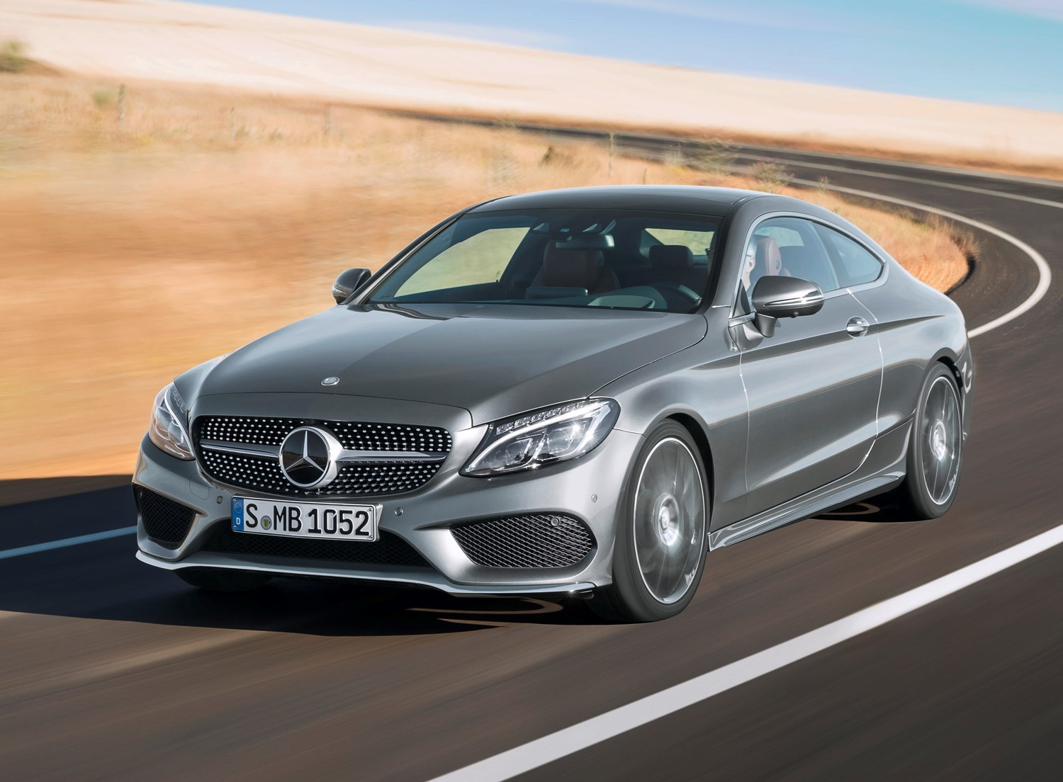 Mercedes Benz C Cl Coupe 2016 Driving