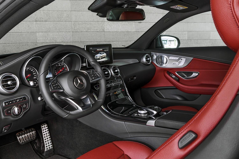 Mercedes Benz C Cl Coupe 2016 Interior Detail
