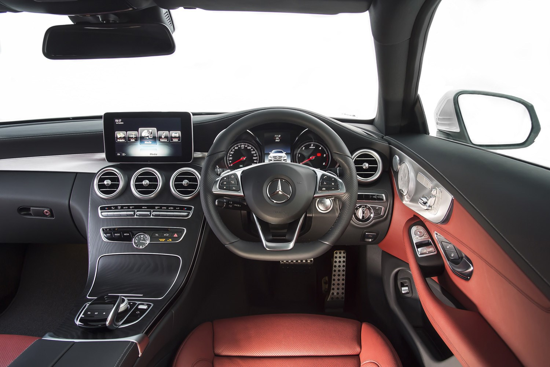 mercedes-benz c-class coupé review (2015 - )   parkers
