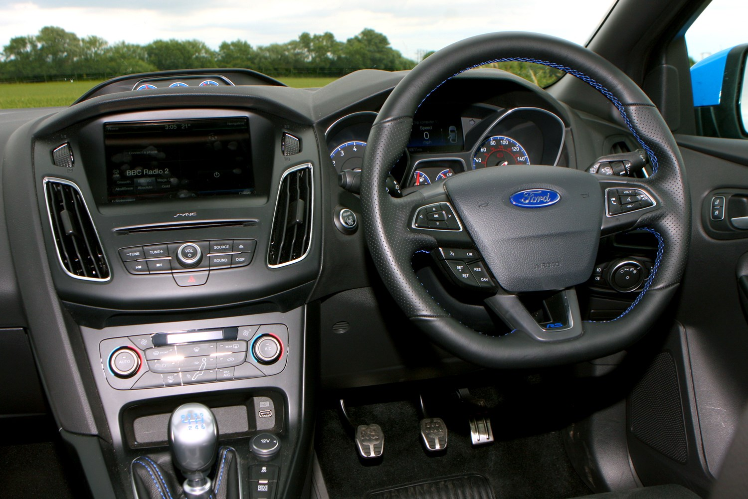 The Gallery For Ford Focus Rs 2010 Interior