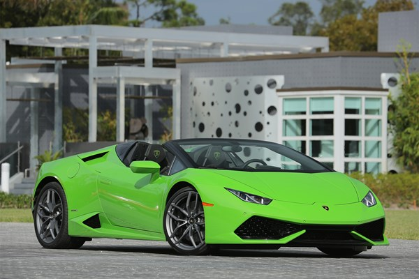 Lamborghini Huracan Spyder (15 on) - rated 4.5 out of 5