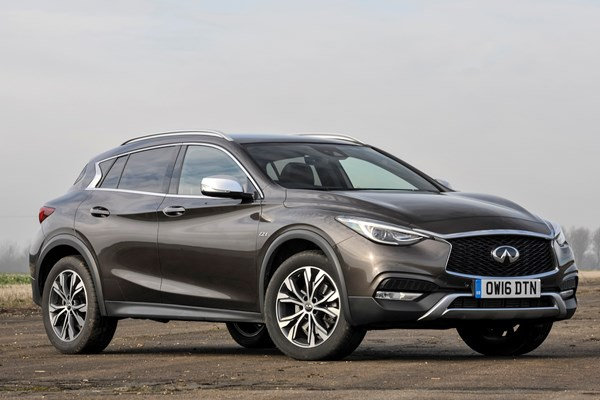 infiniti qx30 suv from 2016 used prices parkers. Black Bedroom Furniture Sets. Home Design Ideas