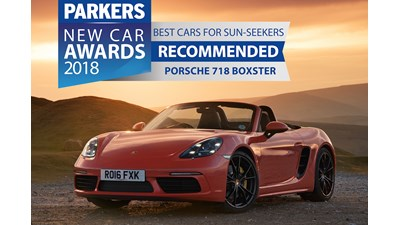 Porsche 718 Boxster Convertible Spyder 2d