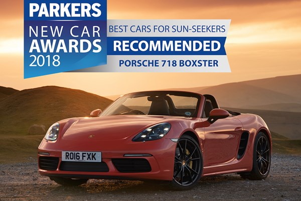 porsche 718 boxster convertible from 2016 used prices parkers. Black Bedroom Furniture Sets. Home Design Ideas